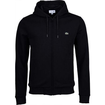 Men's sweatshirt - Lacoste FULL ZIP WITH HOODIE - 1