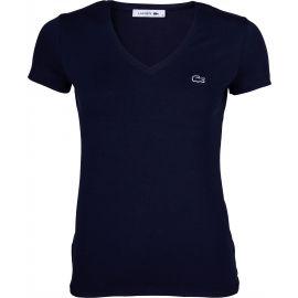 Lacoste V NECK SS T-SHIRT - Dámske tričko