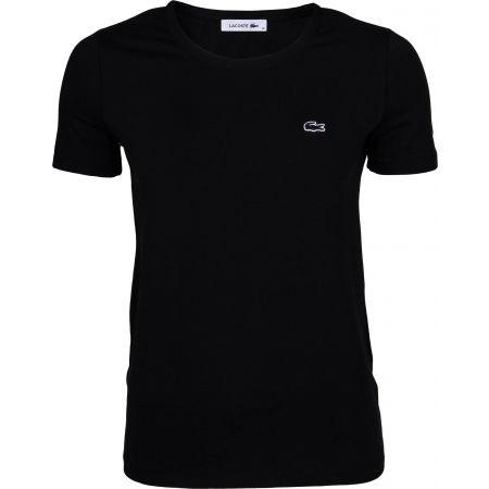Women's T-shirt - Lacoste ZERO NECK SS T-SHIRT - 1