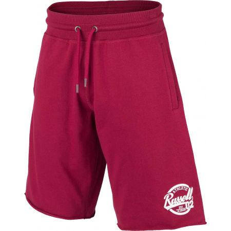 Pánske šortky - Russell Athletic COLLEGIANTE RAW EDGE SHORTS - 2