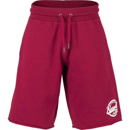 Russell Athletic COLLEGIANTE RAW EDGE SHORTS - Herren Shorts