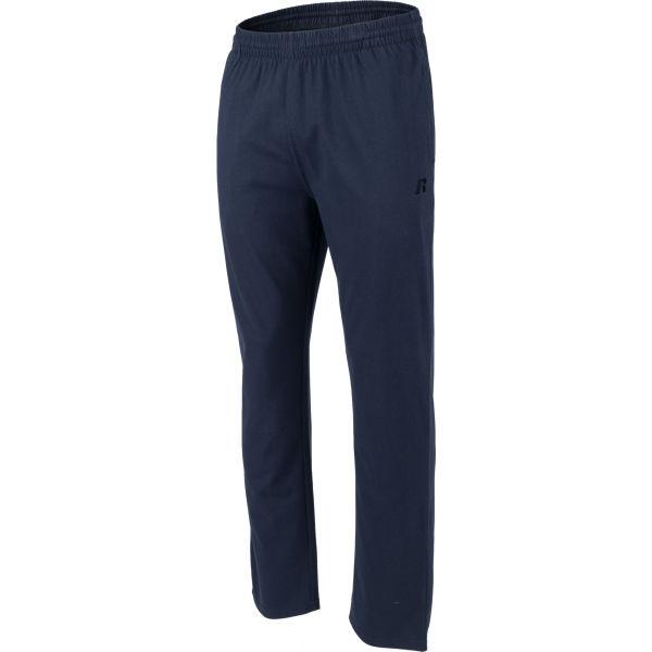 Russell Athletic OPEN LEG PANT tmavě modrá XL - Pánské tepláky