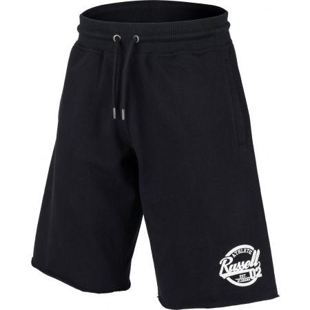 Herren Shorts - Russell Athletic COLLEGIANTE RAW EDGE SHORTS - 2