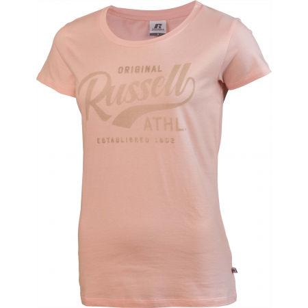 Дамска тениска - Russell Athletic ORIGINAL S/S CREWNECK TEE SHIRT - 2