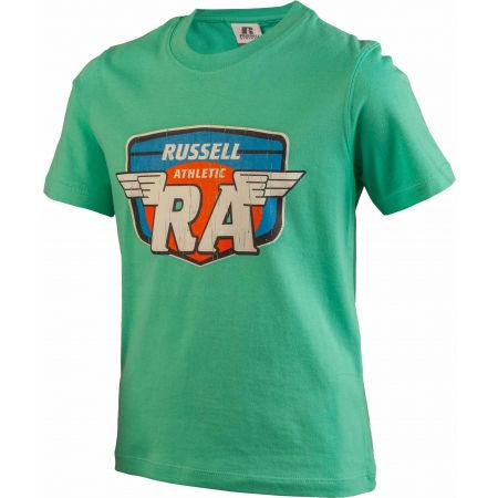 Детска тениска - Russell Athletic WINGS S/S CREWNECK TEE SHIRT - 2