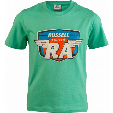 Russell Athletic WINGS S/S CREWNECK TEE SHIRT - Gyerek póló