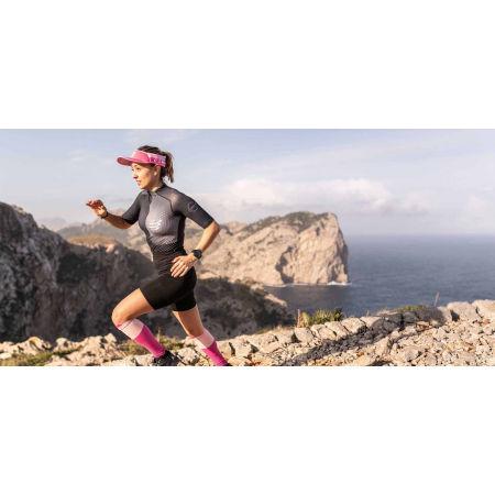 Women's running jersey - Compressport TRAIL POSTURAL SS TOP W - 7