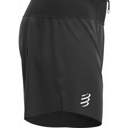 Spodenki kompresyjne do biegania męskie - Compressport TRAIL 2-in-1 SHORT - 3