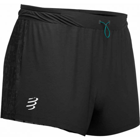 Men's running shorts - Compressport RACING SPLIT SHORT - 1