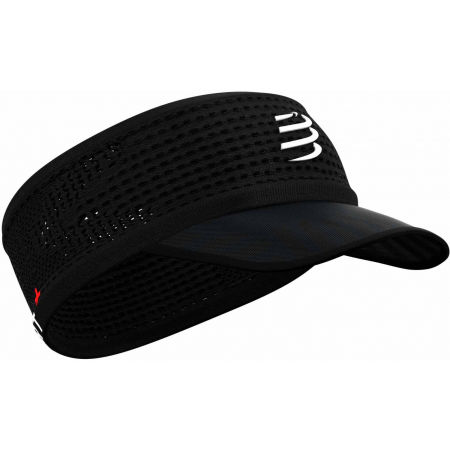 Compressport SPIDERWEB HEADBAND ON/OFF - Banderolă alergare cu cozoroc
