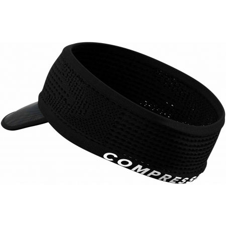 Running headband with a visor - Compressport SPIDERWEB HEADBAND ON/OFF - 2