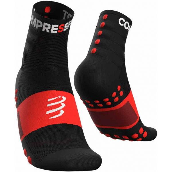 Compressport TRAINING SOCKS 2-PACK čierna T3 - Športové ponožky