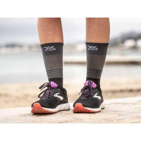 Дълги чорапи за бягане - Compressport MID COMPRESSION SOCKS - 2
