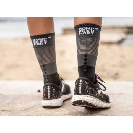 Дълги чорапи за бягане - Compressport MID COMPRESSION SOCKS - 4