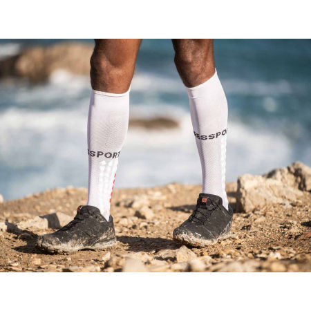 Compression running knee high socks - Compressport FULL SOCKS RUN - 2