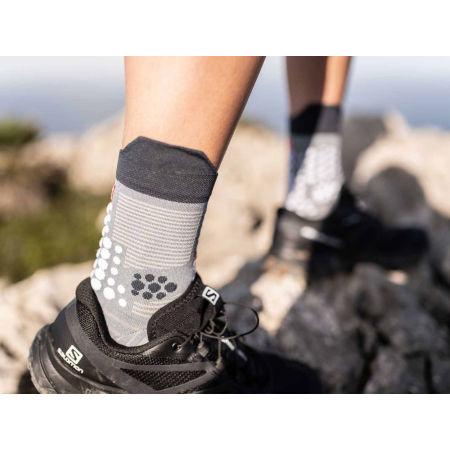 Running socks - Compressport PRO RACING SOCKS V3.0 TRAIL - 2