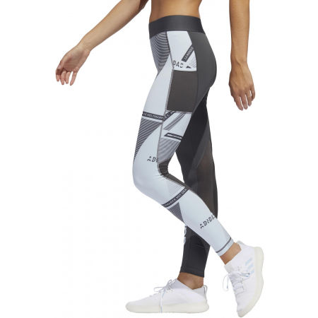 Women's leggings - adidas ASK SP AOP L T - 4