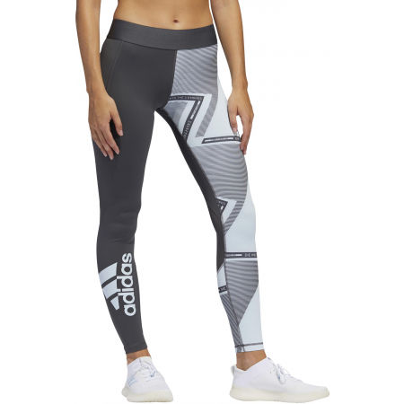 Women's leggings - adidas ASK SP AOP L T - 3