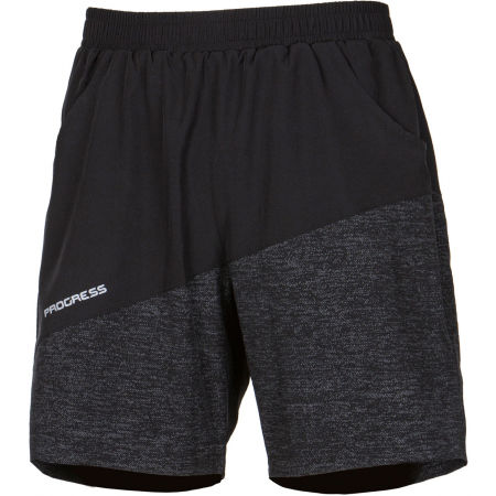 Progress TWISTER - Men's running shorts 2in1