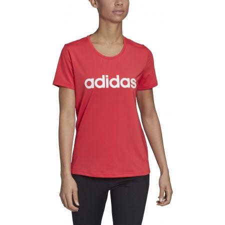 Women's T-shirt - adidas D2M LO TEE - 3