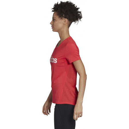 Women's T-shirt - adidas D2M LO TEE - 5