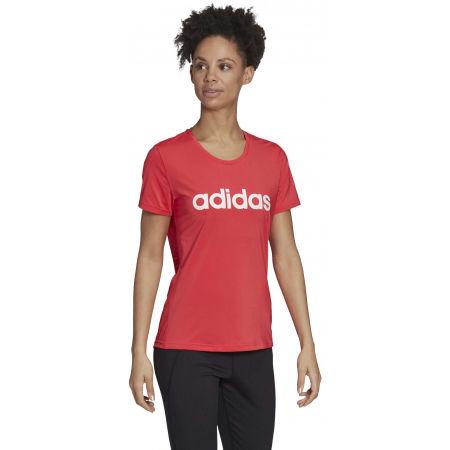 Women's T-shirt - adidas D2M LO TEE - 6