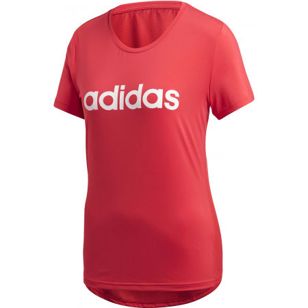 Women's T-shirt - adidas D2M LO TEE - 1