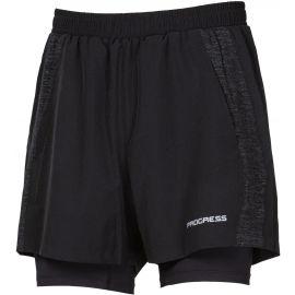 Progress FELIS - Men's running shorts 2in1