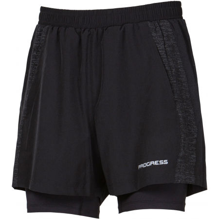 Pánske športové šortky 2v1 - Progress FELIS - 1