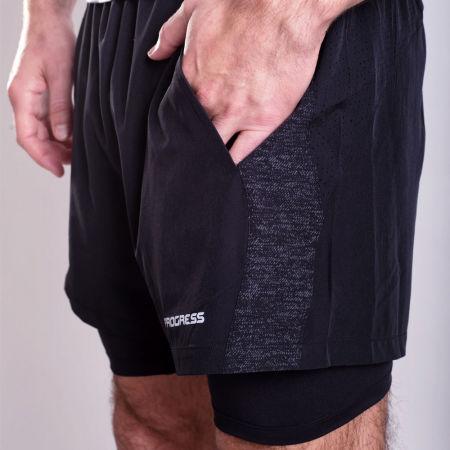 Pánske športové šortky 2v1 - Progress FELIS - 3