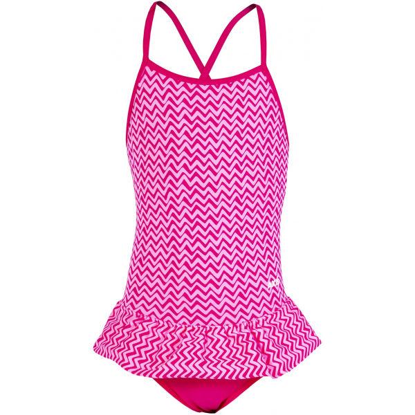 Axis FODROS EGYRÉSZES LÁNY FÜRDŐRUHA rózsaszín 134 - Egyrészes lány fürdőruha