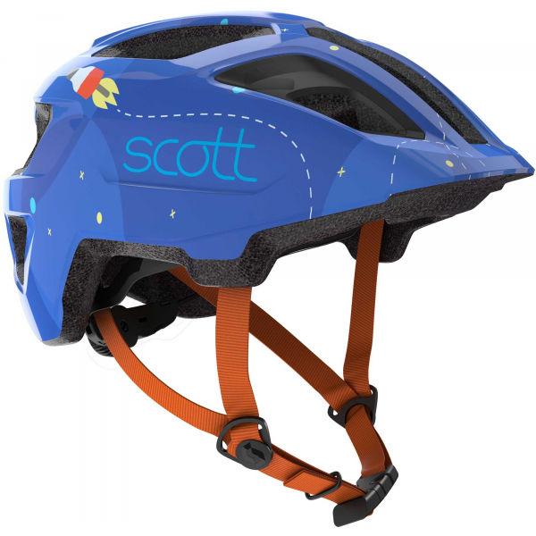 Scott SPUNTO KID modrá (46 - 52) - Detská prilba na bicykel