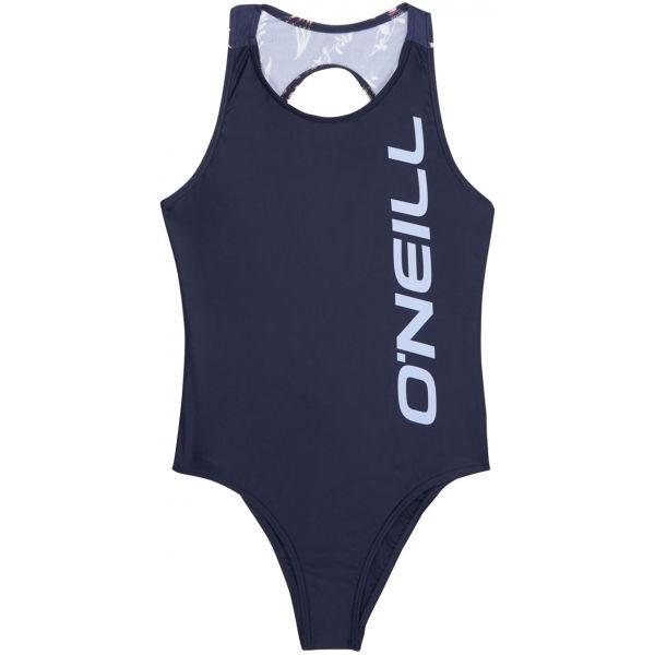 O'Neill PG SUN & JOY SWIMSUIT tmavě modrá 116 - Dívčí jednodílné plavky