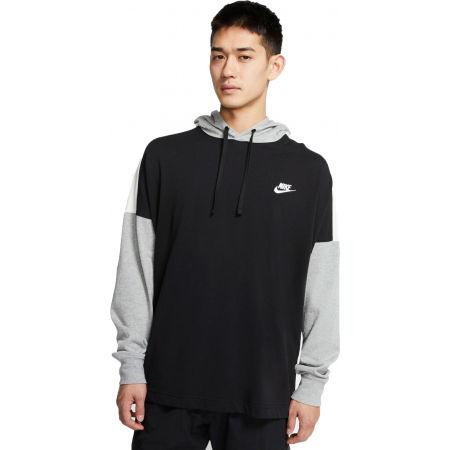 Nike NSW HOODIE PO JSY CB M - Pánská mikina