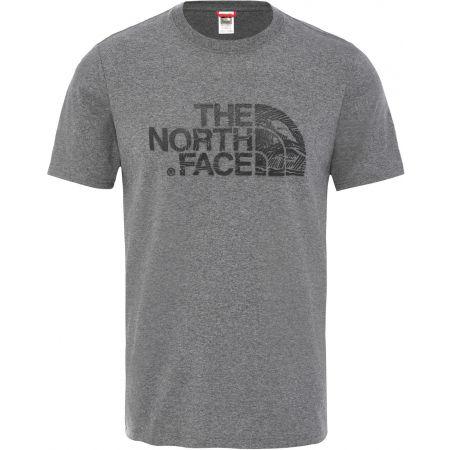 The North Face WOOD DOME TEE - Férfi póló