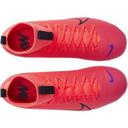 Ghete de fotbal copii - Nike JR MERCURIAL SUPERFLY 7 ACADEMY FG/MG - 4