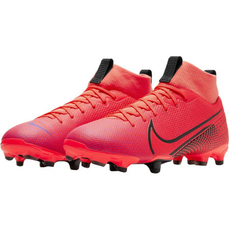 Ghete de fotbal copii - Nike JR MERCURIAL SUPERFLY 7 ACADEMY FG/MG - 3