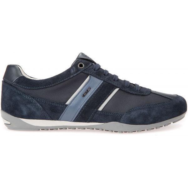 Geox U WELLS tmavě modrá 43 - Pánská volnočasová obuv