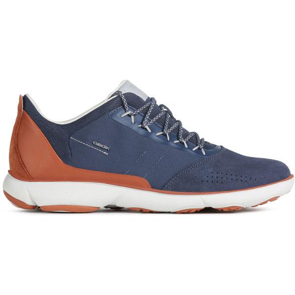 Geox U NEBULA tmavě modrá 45 - Pánská volnočasová obuv