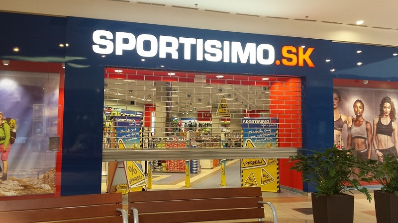 SPORTISIMO Levice - DITURIA SHOPPING CENTER