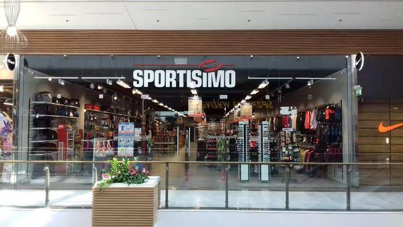 SPORTISIMO Bratislava - AUPARK shopping center