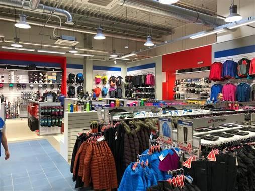 SPORTISIMO Ostrava: Nákupní centrum Géčko