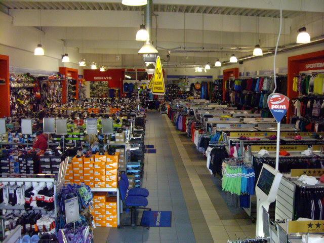 SPORTISIMO Karviná : Obchodní centrum Karviná