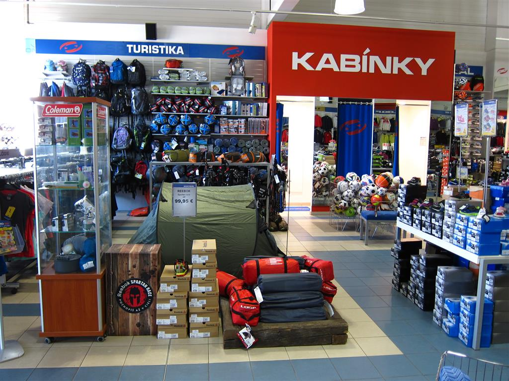 SPORTISIMO Poprad - Shopping center Tatry