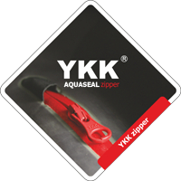 YKK waterproof zipper