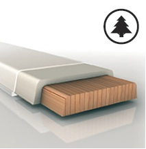 jádra Woodcore